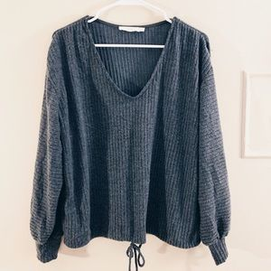 Lush Grey Sweater